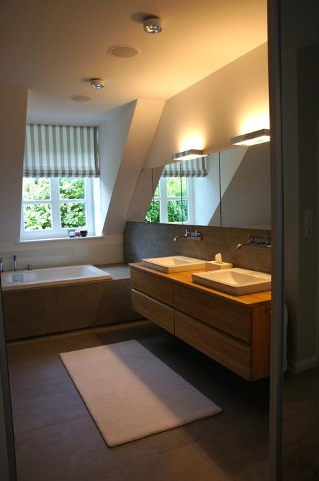 Umbau Schlaf- und Badezimmer