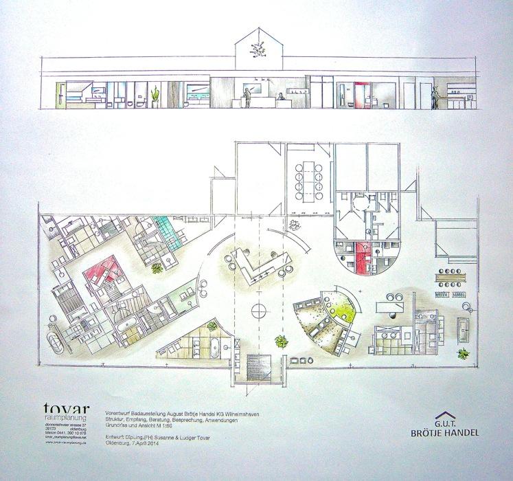 Badausstellung Oldenburg grundriss foto jpg
